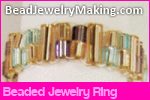 Beaded Jewelry Ring